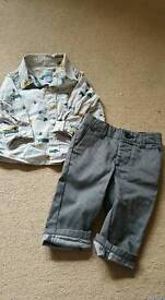 Gap outfit age 6-12 months