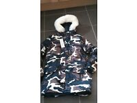 Camouflage men's jacket brand new