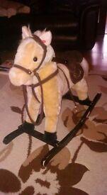 kids rocking horse £12