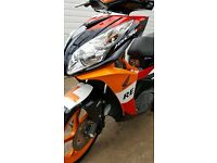 Honda NSC 50 Repsol Addition 50CC Moped 350 miles mint condition learner legal