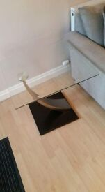 3 glass tables excellent condition. 2 small corner and 1 large
