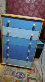 Brand new blue drawers £90