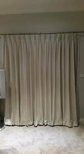 2 New Custom made Pinch Pleat Curtains - 2 Separate Windows - Belgrave Heights Yarra Ranges Preview