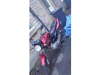 Heres my 64 plate honley hd1 125cc,