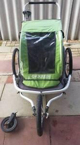 Croozer Kid For 2 - bike trailer, stroller and running pram Innaloo Stirling Area Preview