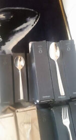 BRAND NEW CUTLERY £5 A BOX OF 12PS.