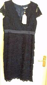 Jacques vert navy blue dress