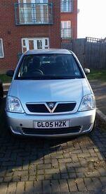 Vauxhall meriva cdti ONE YEAR MOT
