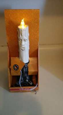 TED LIGHTED TALKING SINGING CANDLE STICK PROP. NEW.  (Talking Stick Halloween)