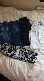 bundle of womens clothes size 8