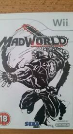 Mad World game for Nintendo Wii