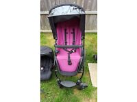 Red kite travel system(prices negotiable)