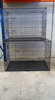 DOG CRATES STRONG WIRE COLLAPSABLE BRAND NEW Skye Frankston Area Preview