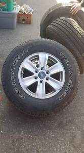 Ford Truck Tires only 5000km on them