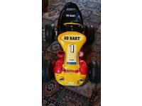 ELECTRIC RIDE-ON GO KART BATTERY OPERATED KIDS RACE CAR