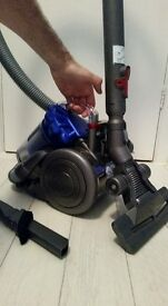 dyson cylinder hoover very light weight vacuum cleaner serviced