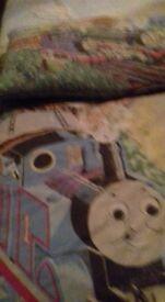 Thomas tank duvet set,curtains & bike