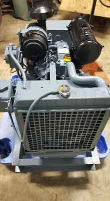 15 Kw Yanmar Diesel Generator Radiator Cooled 1ph 3ph Mint Condition