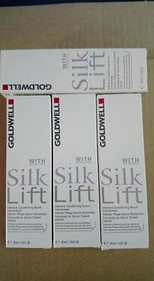 4 x Goldwell Silk Lift Intensive Conditioning Serum Concentrate 30ml