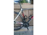 MEKK carbon fibre road bike. Full ultegra