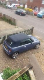 Mini Cooper Convertible. Brand new gearbox, clutch and battery!