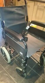 LOmaz wheelchair in great clean condition (no footplates)