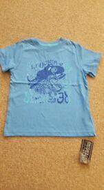 Brand New 4-5y boys t-shirts