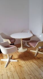 1960s Table and Chairs