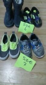 Kids shoes size 7