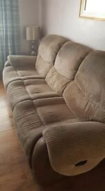 Harveys 3 & 2 seater sofa