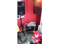 SMALL DJ SET UP BARGAIN TO CLEAR
