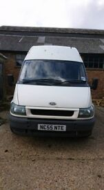 ford transit 2.4 lwb high top spares or repair