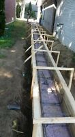 Slab Support With Screw Piles