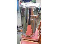 5 Gallon Tea Urn new not electric.