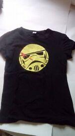 Star Wars/ Watchmen t shirt Stormtrooper Teefury size L