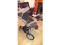 Quinny Buzz Pram with Maxi Cosi Car Seat