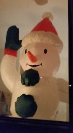 6 foot inflatable snowman for sale