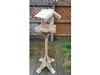 Hand made bird table's