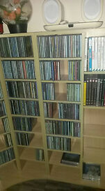 CD VIDEO GAMES BOOKS STORAGE UNITS