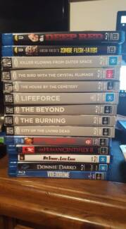 Horror, Thriller and Zombie Movies - Blu Ray