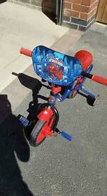 10 inch Spiderman Bike