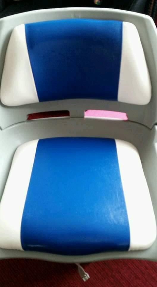 FOLDABLE BOAT SEAT