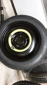 Kia 2016 pcd 5X114.3 space saver wheel (Brand new) fits many more!