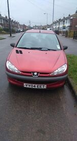 Peugeot 206 immaculate condition 46000 miles 2 lady owners! New clutch year ago electric windows