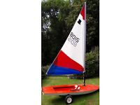 Second Hand Topper Sailing Dinghy Boat for Sale