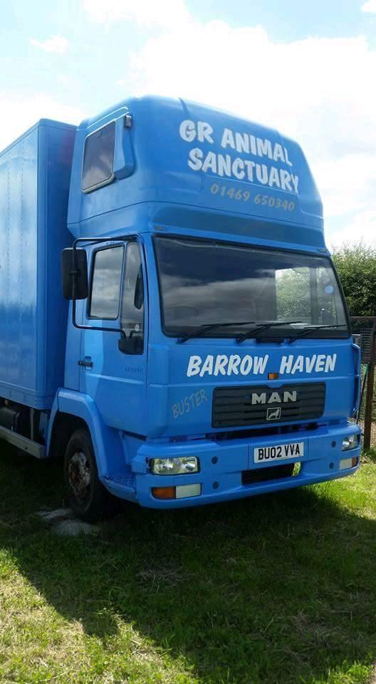 Man 7.5 ton box truck