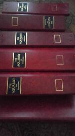 Aquarist and Pondkeeper magazines with original binders