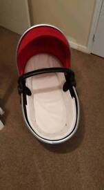 Carrycot silver cross surf
