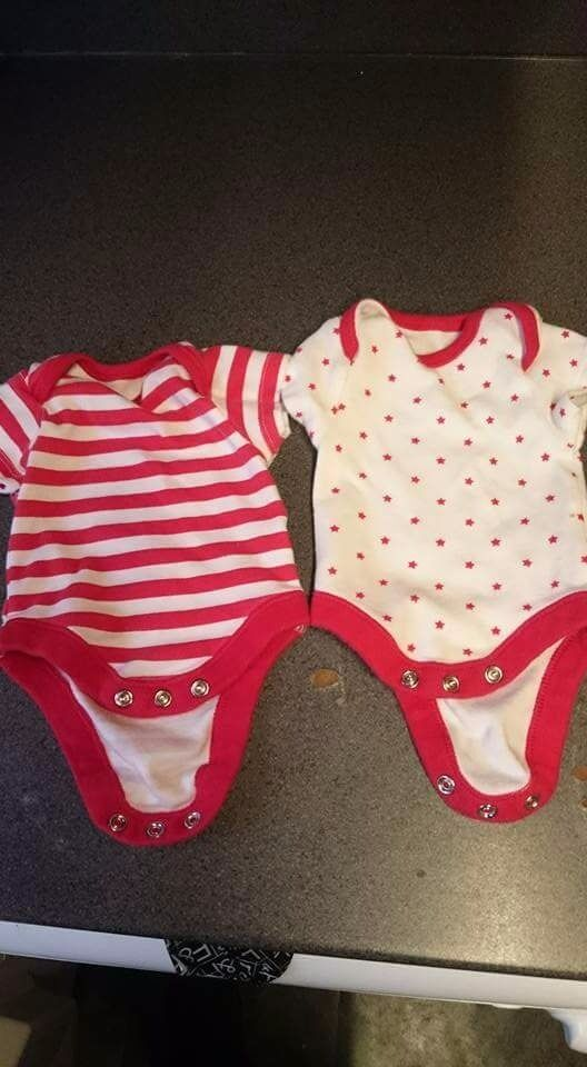 Baby girl clothesin Little Hulton, ManchesterGumtree - Recently washed, baby girl and unisex clothes. Size between tiny baby and newborn. There is also scratch mittens and hats available. Willing to deliver and also welcome to collect. Please no time wasters. Selling all together