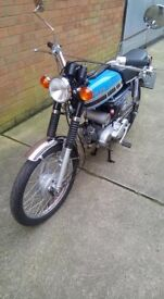 Yamaha FS1EA 49CC MOPED RESTORED TO A NICE CONDITION Runs and rides just like new engine rebuilt